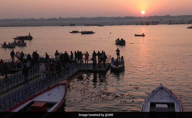 About 2 Crore Devotees Take Holy Dip As 50-Day Kumbh Mela Begins