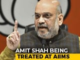 Video : BJP Chief Amit Shah Down With Swine Flu, Being Treated At Delhi's AIIMS