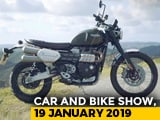 Video : Triumph Scrambler 1200 And Nissan Kicks Vs Hyundai Creta