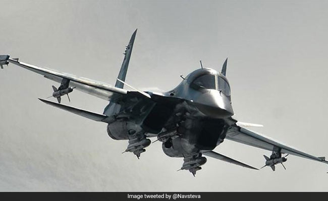 Two Su-34 jets collide mid-air in Russia's Far East