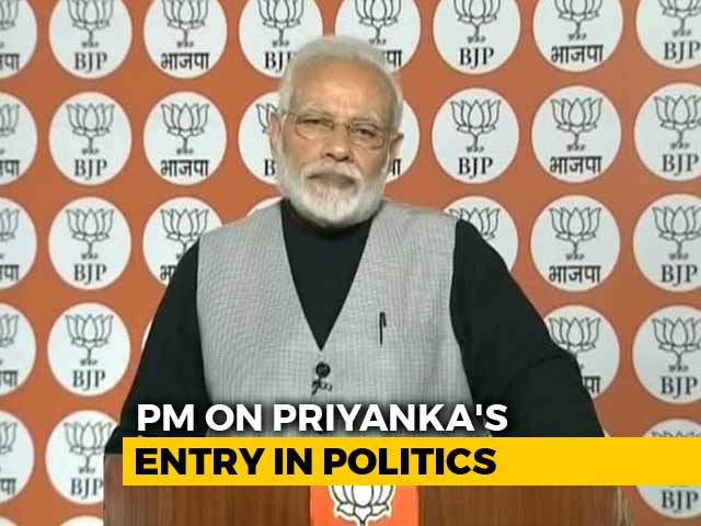 """Video : What PM Modi Said About BJP """"Family"""" On Day Congress Got Another Gandhi"""