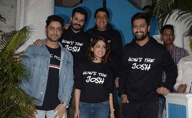As Uri Burns Up The Box Office, Vicky Kaushal And Yami Gautam Celebrate Success With Star-Studded Party