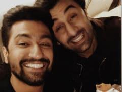 Ranbir Kapoor, Vicky Kaushal Trend For Sanju And Kamli Reunion Pic