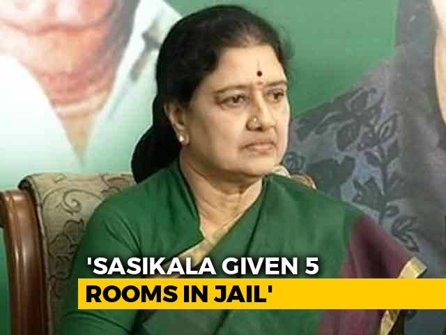 Video : 5 Rooms, Cook Called Ajantha: Probe Reveals VIP Facilities For Sasikala