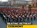 Video : Beating Retreat Ceremony Marking End Of Republic Day Celebrations