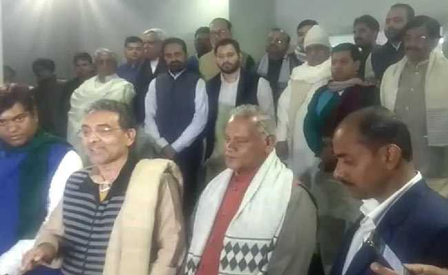 बिहार में महागठबंधन के नेता राज्यपाल से नीतीश कुमार की शिकायत करेंगे