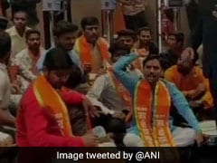 "Sena Workers Protest At Mumbai Theatre For Not Having ""Thackeray"" Poster"