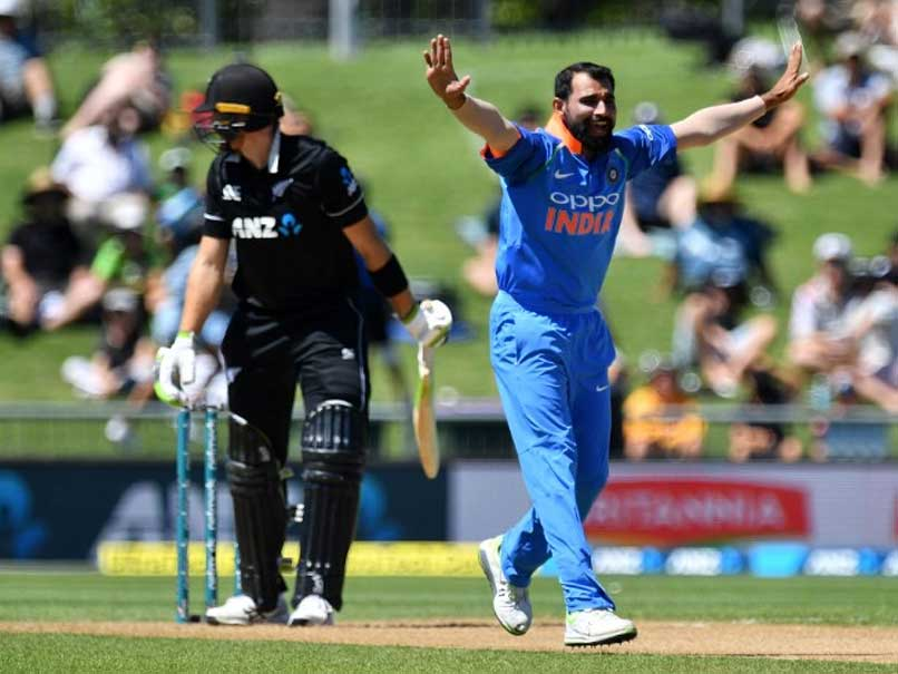 India vs New Zealand: Mohammed Shami Becomes The Fastest Indian To Take 100 ODI Wickets