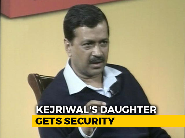 Video : Arvind Kejriwal's Daughter Gets Security After Email Threat
