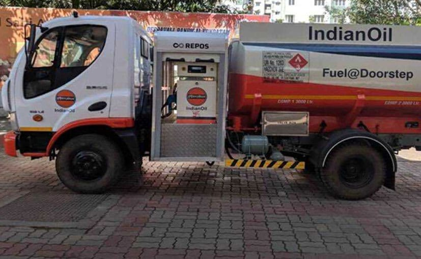 Indian Oil Begins Doorstep Fuel Delivery In Chennai