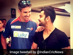 """Let You Off Cos I Love You"": Virat Kohli, Kevin Pietersen Involved In Hilarious Twitter Exchange"