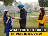 Video : What Do Young People Think Of PM Modi's Big New Year Interview?