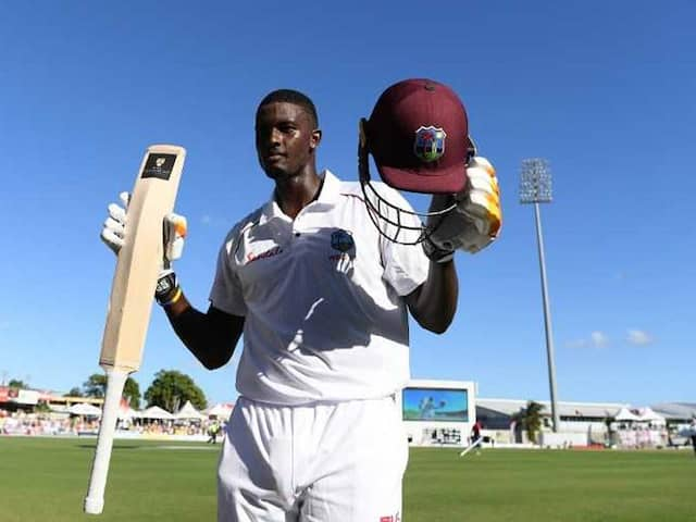 1st Test: Jason Holders Double Century Puts Windies In Total Control vs England