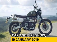 Video: Triumph Scrambler 1200 And Nissan Kicks Vs Hyundai Creta