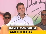 Video : Rahul Gandhi On Two-Day Visit To Amethi Today