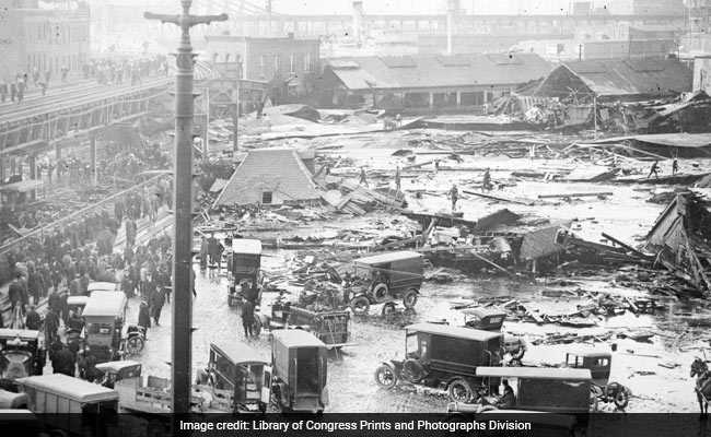 'Like A Black Tidal Wave': The Day Gallons Of Syrup Tore Through Boston