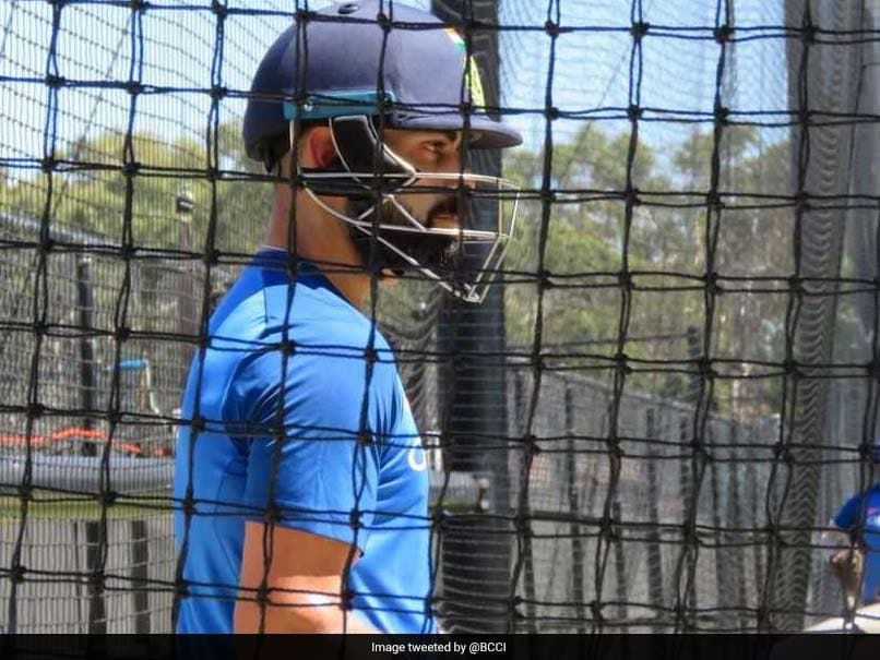 Virat Kohli Sweats It Out In The Adelaide Nets Ahead Of Second ODI. Watch