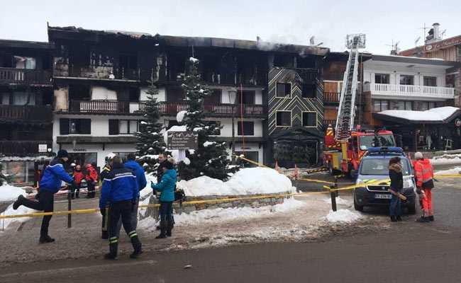 2 Dead, 22 Injured After Fire Breaks Out At Ski Resort In France
