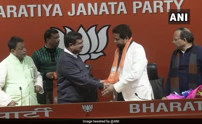 BJP Launches Bengal Offensive By Luring Trinamool Lawmaker Saumitra Khan