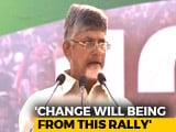 "Video : ""Narendra Modi Is Publicity PM, Not Performing PM"": Chandrababu Naidu"