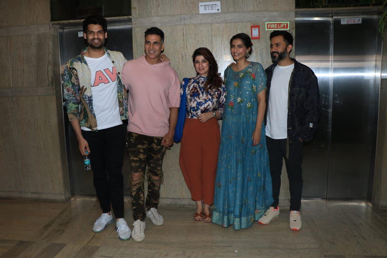 Sonam Kapoor's Ek Ladki Ko Dekha Toh Aisa Laga Is 'Brilliant,' Akshay Kumar's Review. Watches Film With Twinkle Khanna, Anand Ahuja
