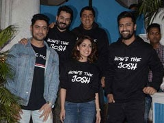As <I>Uri</I> Burns Up The Box Office, Vicky Kaushal And Yami Gautam Celebrate Success With Star-Studded Party