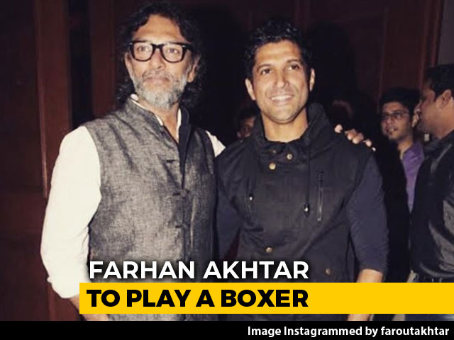 Video : Farhan Akhtar To Play A Boxer In <i>Toofan</i>