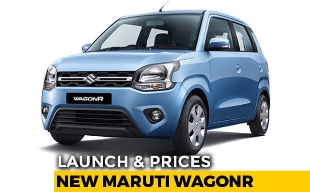 2019 Maruti Suzuki Wagonr Launch And Prices