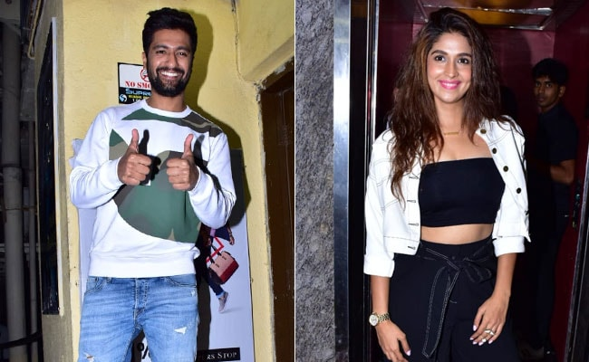 Uri Screening: Vicky Kaushal Watches Film With Rumoured Girlfriend Harleen Sethi And Others