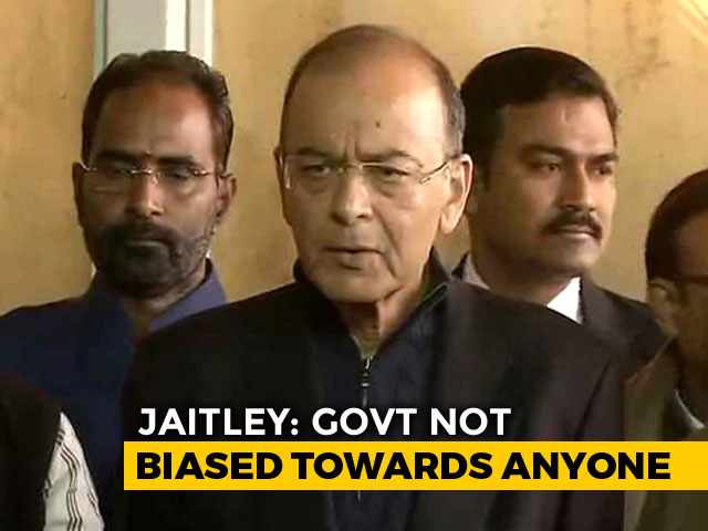 "Video : ""Supreme Court Took Balanced View"": Arun Jaitley After CBI Order Setback"
