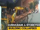 Video : 5 Trapped After Four-Storey Building Collapses In Gurugram, Rescue On