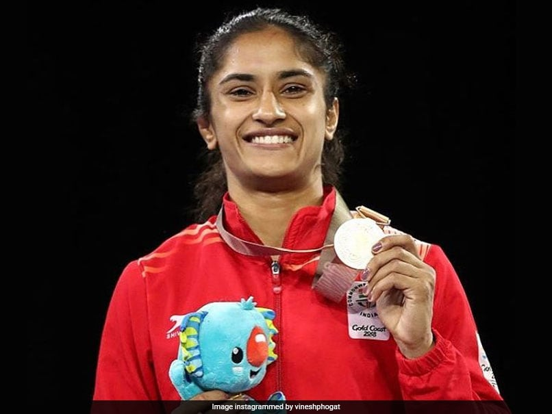 Vinesh Phogat Elated At Being Nominated For Prestigious Laureus Award