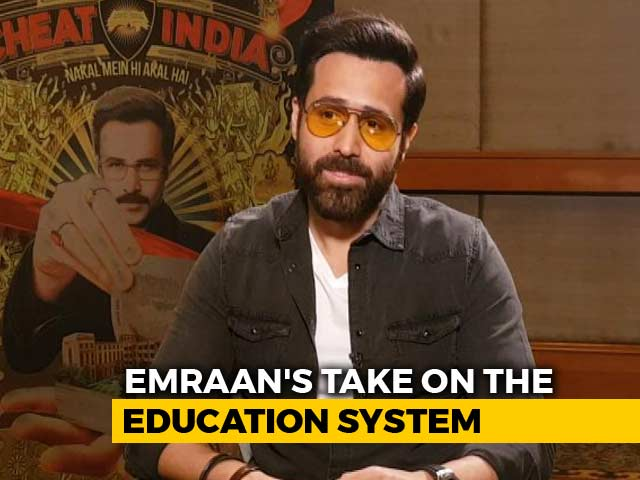 Emraan Hashmi Takes On India's Education System