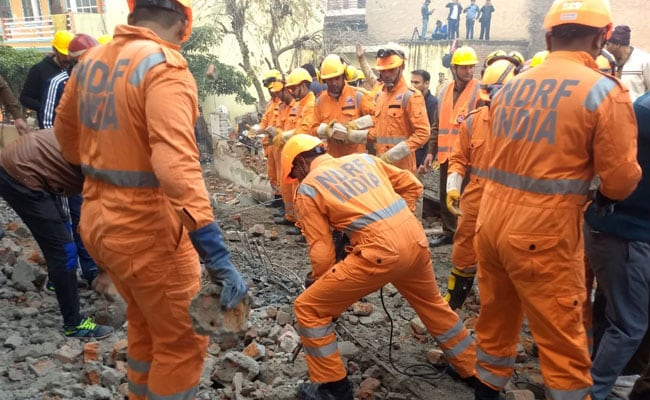 7 Killed After Four-Storey Building Collapses In Gurugram