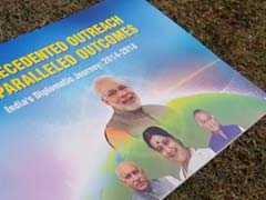 प्रवासी भारतीय सम्मलेन में एमजे अकबर की एक तस्वीर ने कराई सरकार की किरकिरी