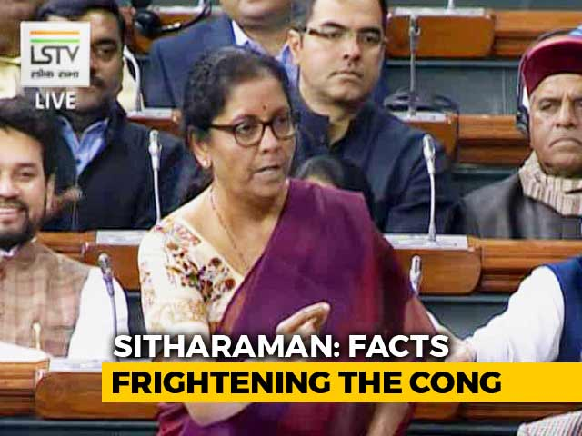 """Video : """"For Every AA There's An RV"""": Defence Minister's """"Damad"""" Dig At Congress"""