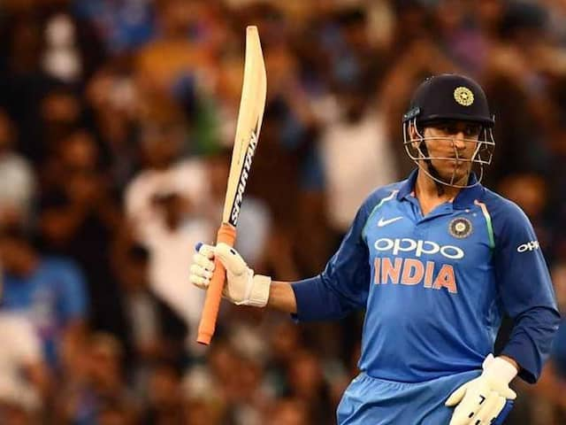 India vs Australia: I am happy To Bat At Any Number, Says MS Dhoni After His Match Winning Innings