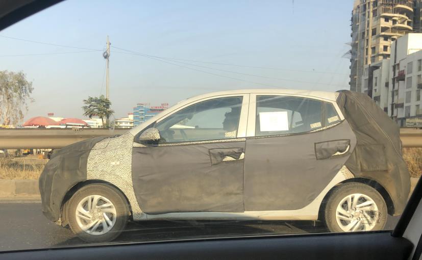 New Hyundai Grand I10 Spotted Testing In India Ndtv Carandbike