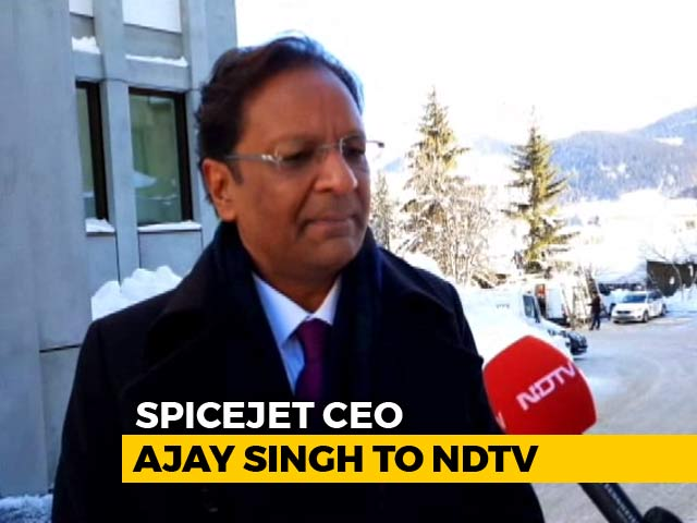 Video : India Can Become World Aviation Hub, Says SpiceJet's Ajay Singh