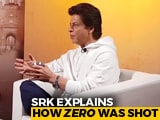 Video : No Body Double Used In <i>Zero</i>: SRK