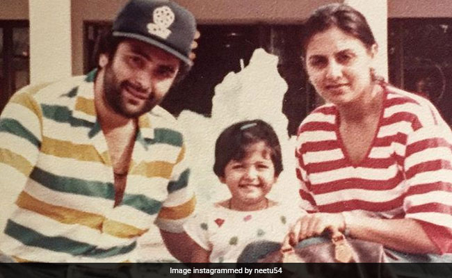 Riddhima's Post For Rishi And Neetu Kapoor On Their Wedding Anniversary