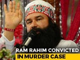 Video : Jailed 'Godman' Gurmeet Ram Rahim Convicted In Murder Of Journalist
