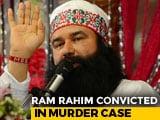 Video: Jailed 'Godman' Gurmeet Ram Rahim Convicted In Murder Of Journalist