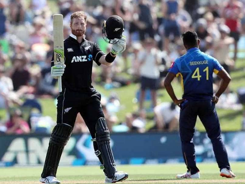 1st ODI: Martin Guptill, Jimmy Neesham Show Six Appeal As New Zealand Beat Sri Lanka