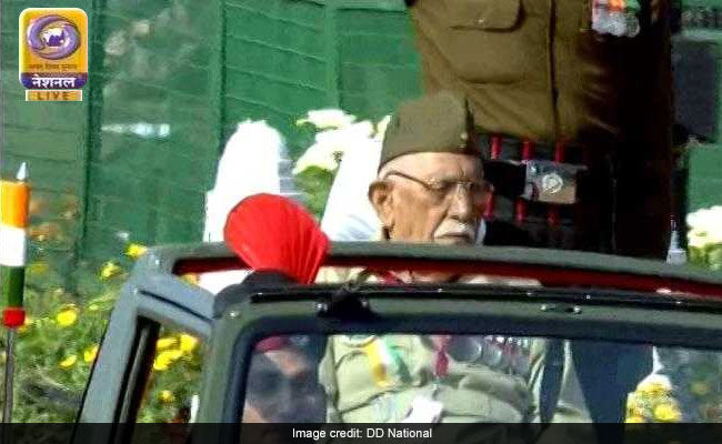 A 100-Year-Old INA Veteran Is Oldest Participant At Republic Day Parade