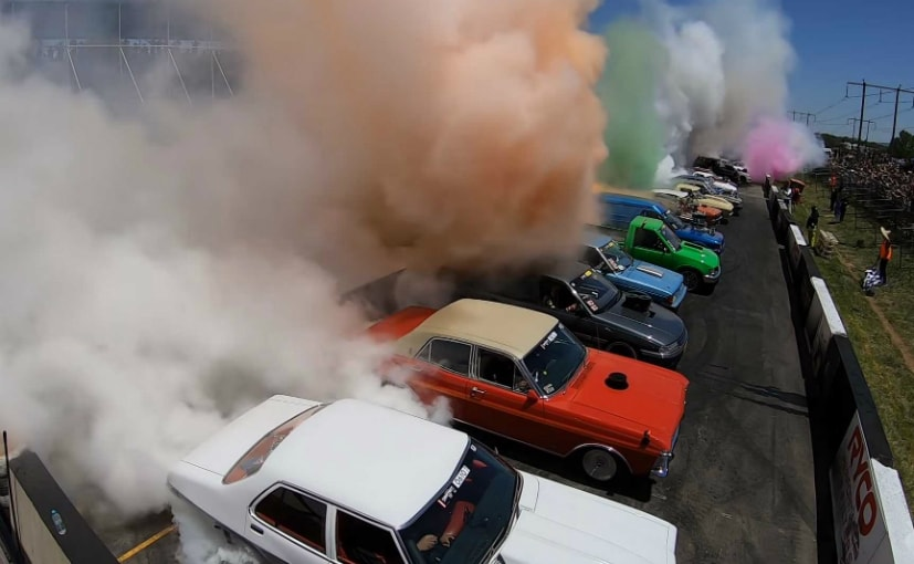 Burnout World Record Set in Austraia