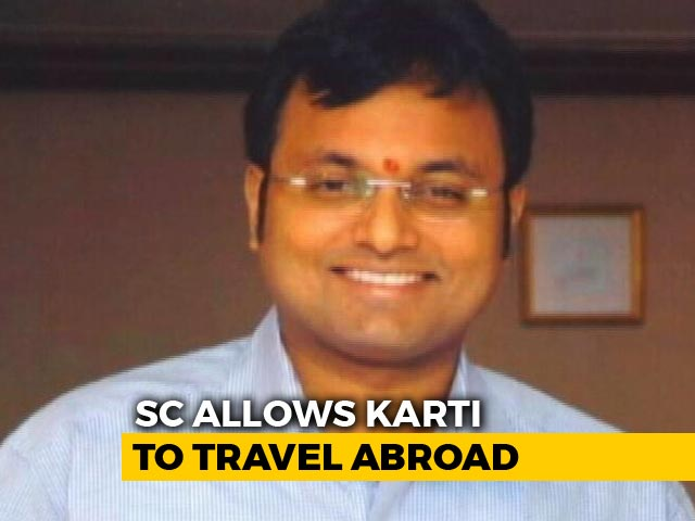 "Video : ""Don't Play Around With The Law"": Supreme Court Warns Karti Chidambaram"