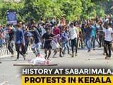 Video : Kerala A War Zone After 2 Women Enter Sabarimala, 750 Arrested