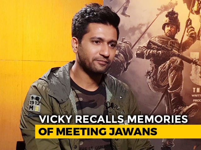 Vicky Kaushal Recalls Time Spent With Army Jawans