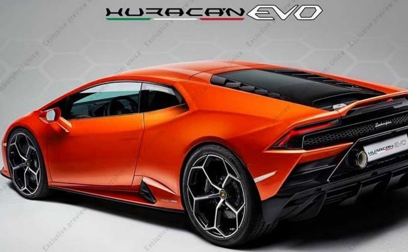 2020 Lamborghini Huracan Evo Teased Ndtv Carandbike
